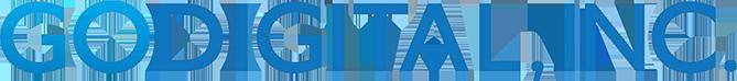 GoDitital, Inc horizontal logo